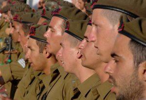 חיילים במסדר