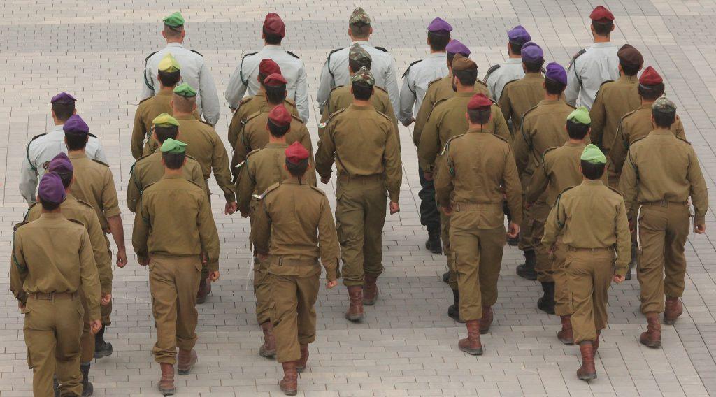 תמונה של חיילים