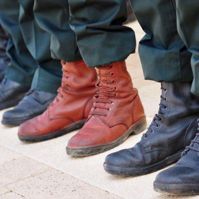 נעליים של חיילים
